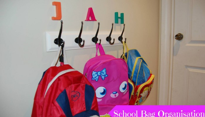 SCHOOL BAG ORGANISATION