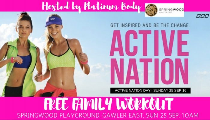 ACTIVE NATION DAY WITH RENEE PLATT